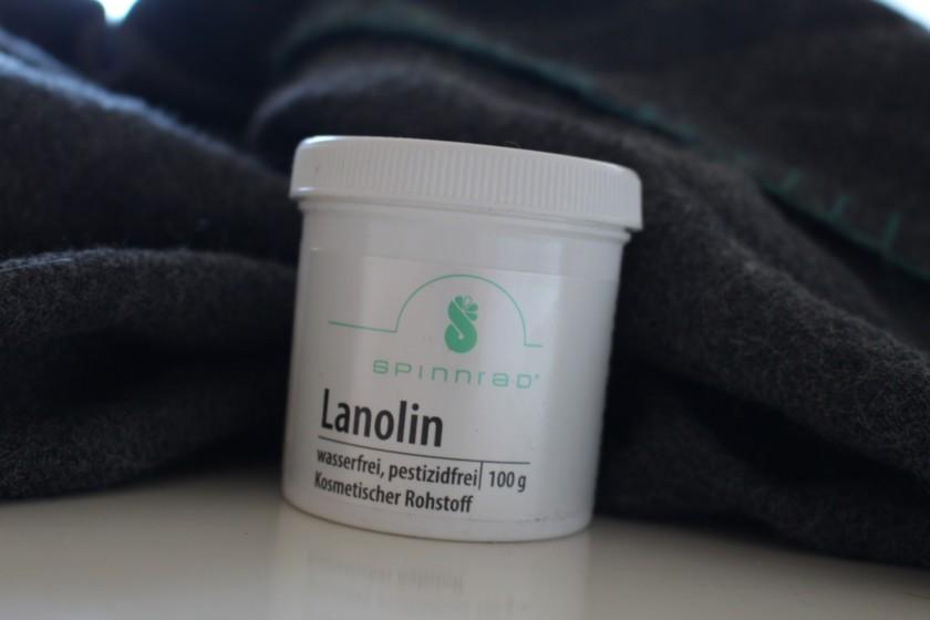 Alpaka Wolldecke mit Lanolin fetten (2)