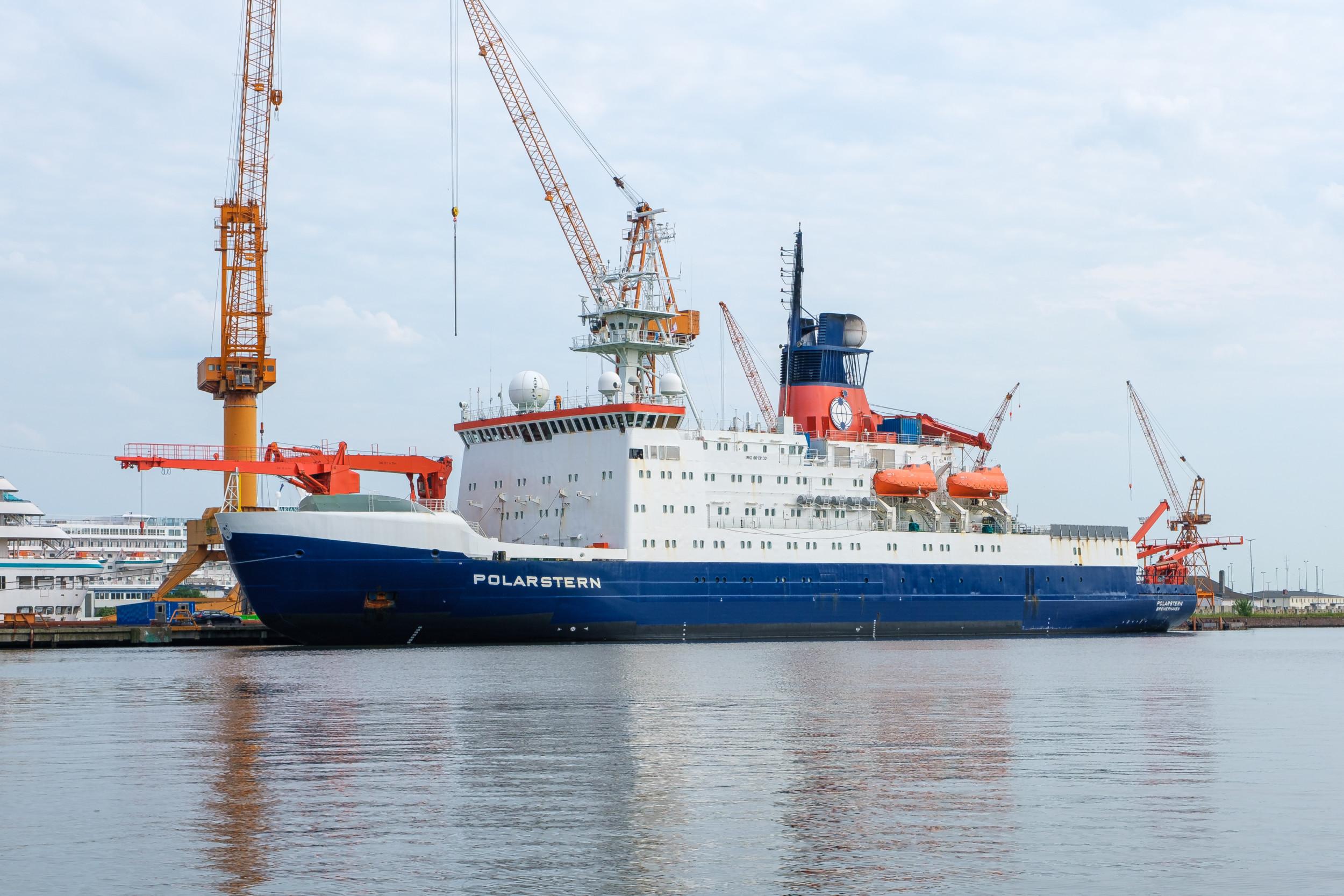 Polarstern in Bremerhaven