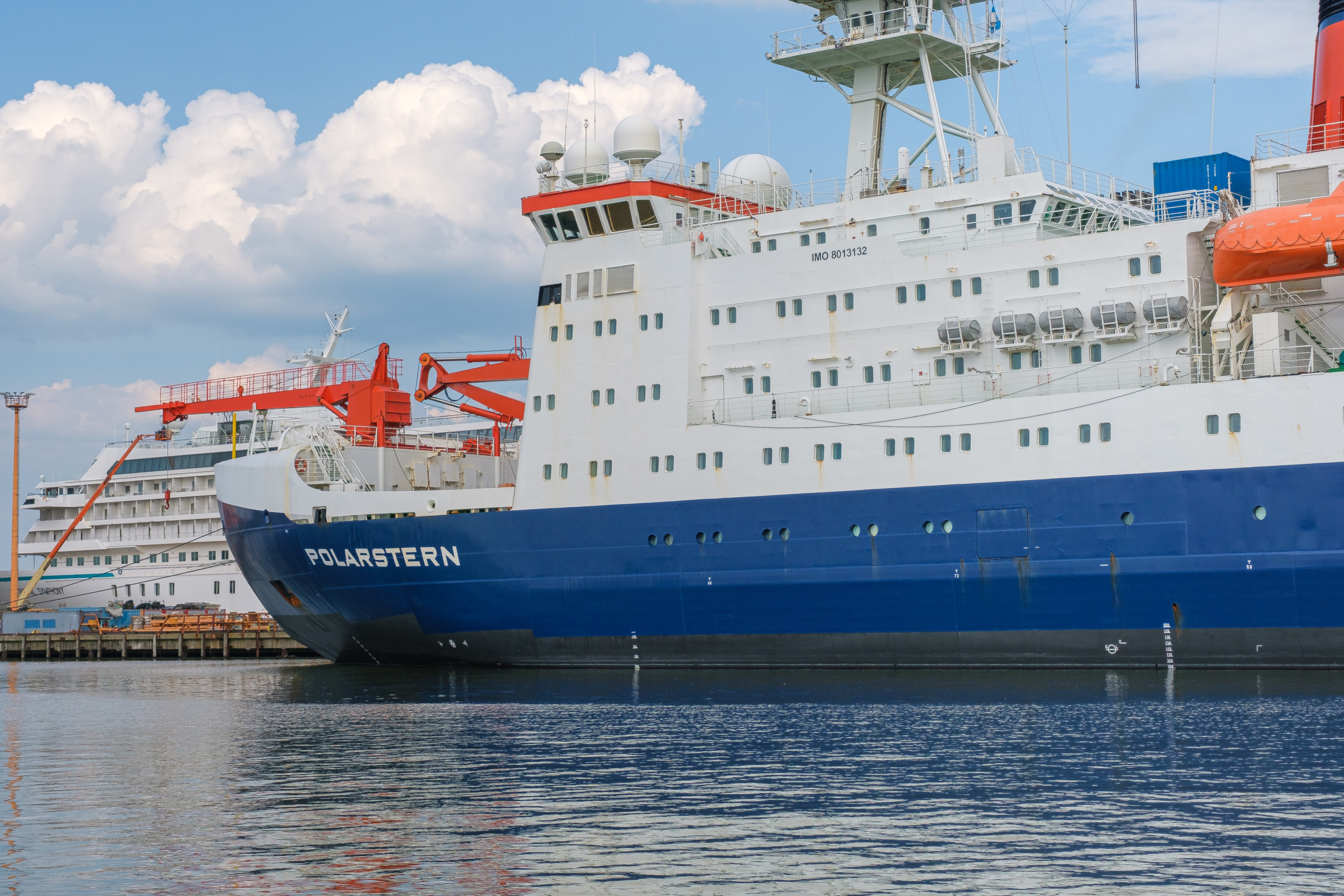 Polarstern im Heimathafen