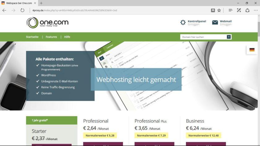 Webhosting Vergleich 2017 - Meine Erfahrung als Webdesigner